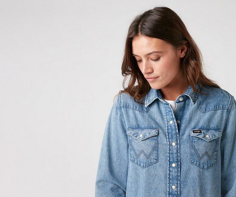 Chemises en denim